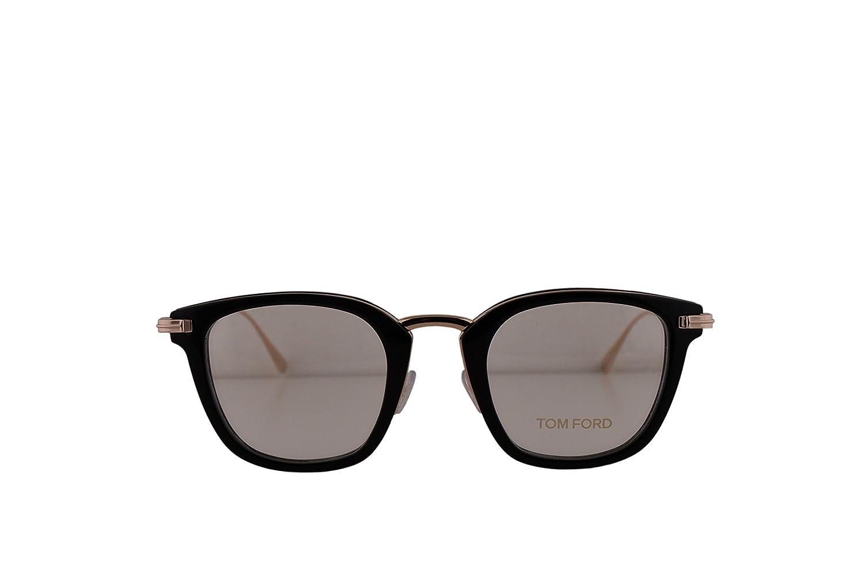 4dd6af2acaed6 Amazon.com  Tom Ford FT5496 Eyeglasses 47-23-145 Shiny Black w Demo Clear  Lens 001 TF5496 FT 5496 TF 5496  Home   Kitchen