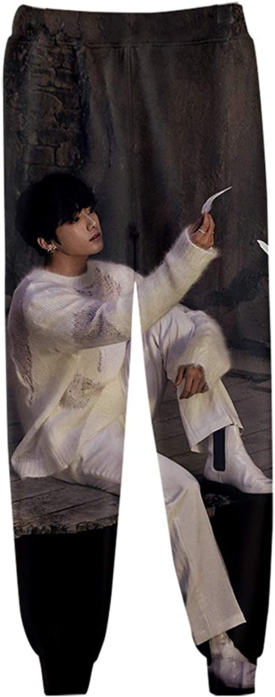 CHAIRAY BTS Sport Pant 3D Digital Print Sweatpant Jimin Jungkook Jin Love Yourself Pant