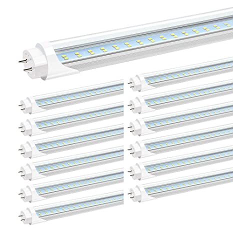 Amazon.com: jesled T8 T10 T12 4 ft Tubo de luz LED, 4 foot ...