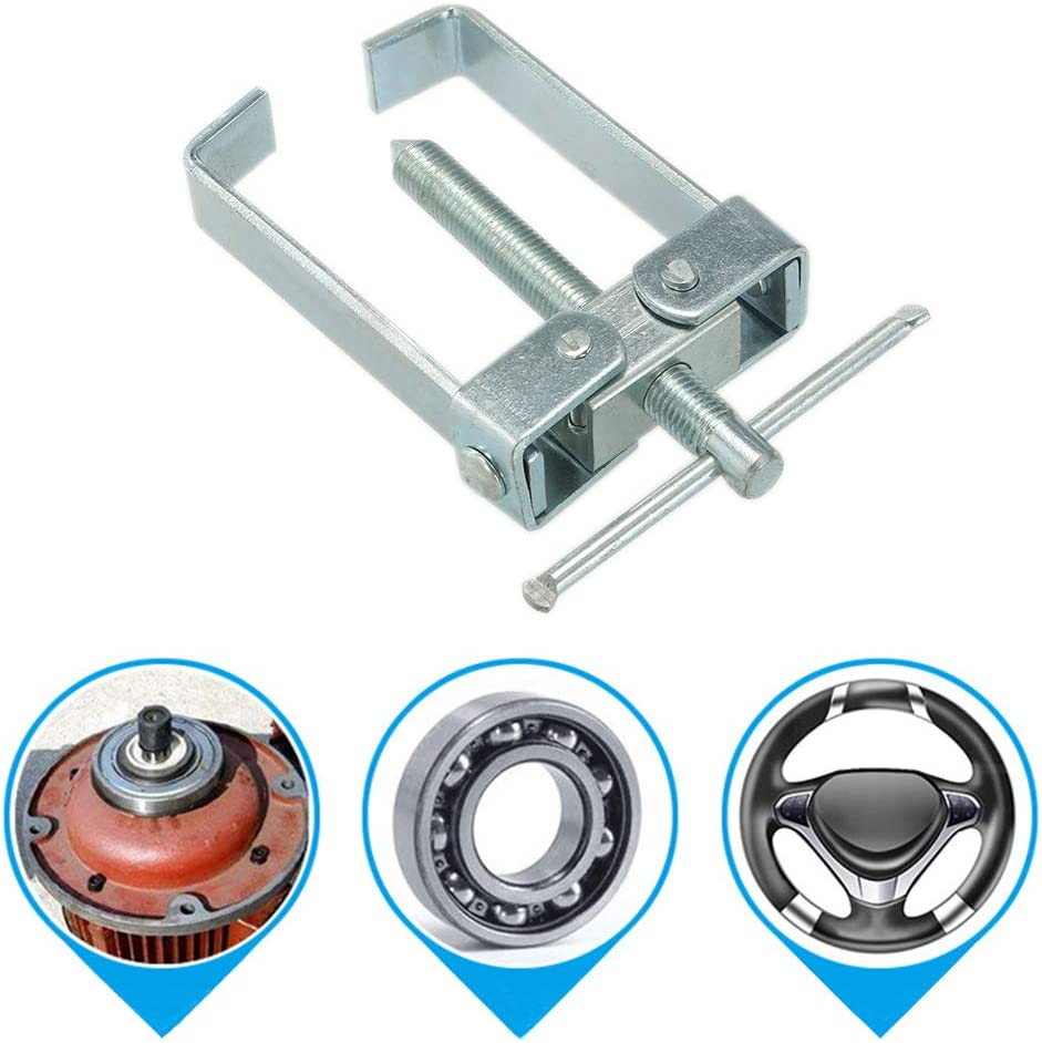 Alician Two Jaw Twin Legs Bearing Gear Puller Remover Hand Tool Removal Kit Bearing Puller Splitter Tool for Wheel Hub Gear Pinion Auto Accessories