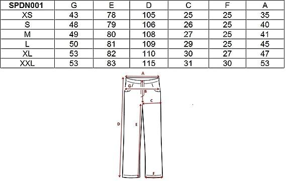 4F con Protezioni Laterali e Bretelle Rimovibili Colonna dAcqua 5.000 mm Pantaloni da Sci da Donna Impermeabili