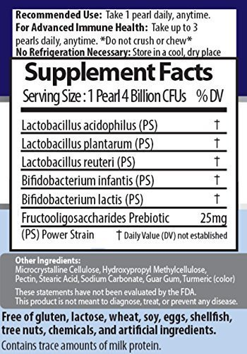 60 Day Supply – Earth's Pearl Probiotic & Prebiotic – More Effective Than Capsules – Advanced Digestive and Gut Health for Women, Men and Kids - Billions of Live Cultures by Earths Pearl Probiotics (Image #7)