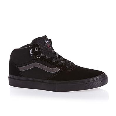 Vans Men Gilbert Crockett Pro Skate Shoe (7.5, Black/black)