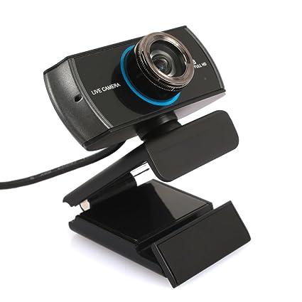 Hongfei Cámara De Video Durable Cámara with 360 Grados Micrófono Ordenador Portátil Cuaderno