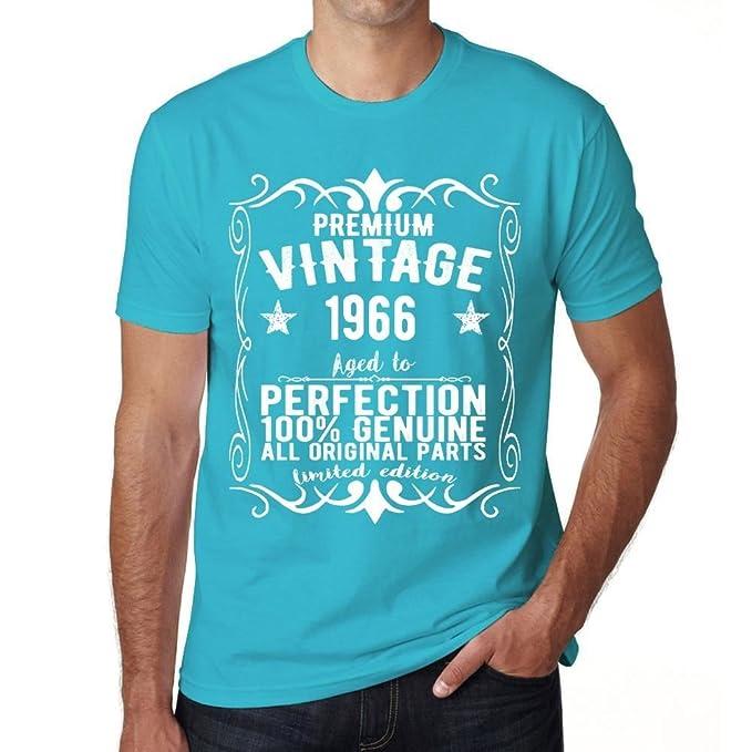 1966 Blue Tshirt Mens Birthday Gifts For Men Gift
