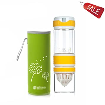 Vasos para té y café Taza Vaso exprimidor Vidrio Botella Termo de Viaje de vacío de