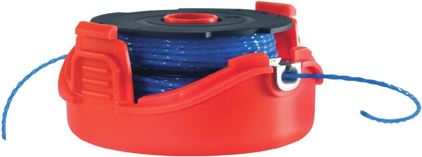Black+Decker A6442-XJ - Bobina con hilo de 2x6 m de largo y 1.5 mm de diámetro, para los modelos con sistema de alimentación Reflex Plus de doble hilo GL5530