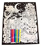 Best Darice 3 Year Old Boy Gifts - Darice Color-in Poster with 8 Markers ~ Fantasy Review