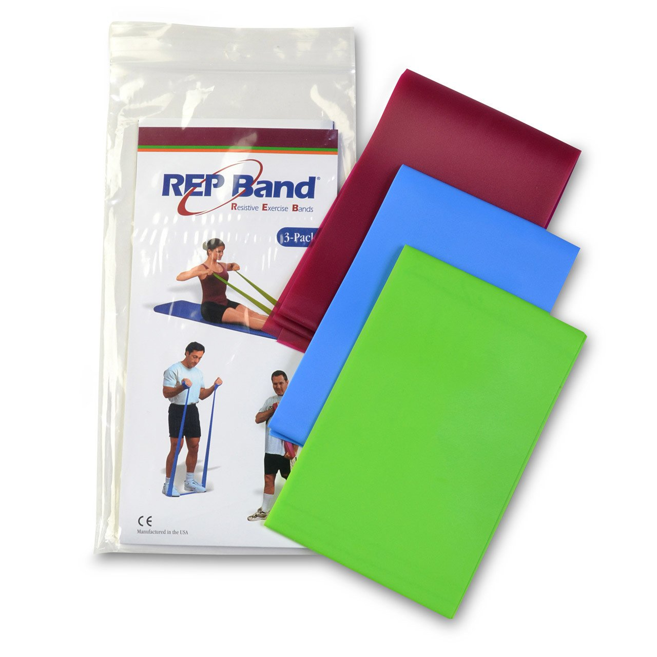 Non latex exercise bands