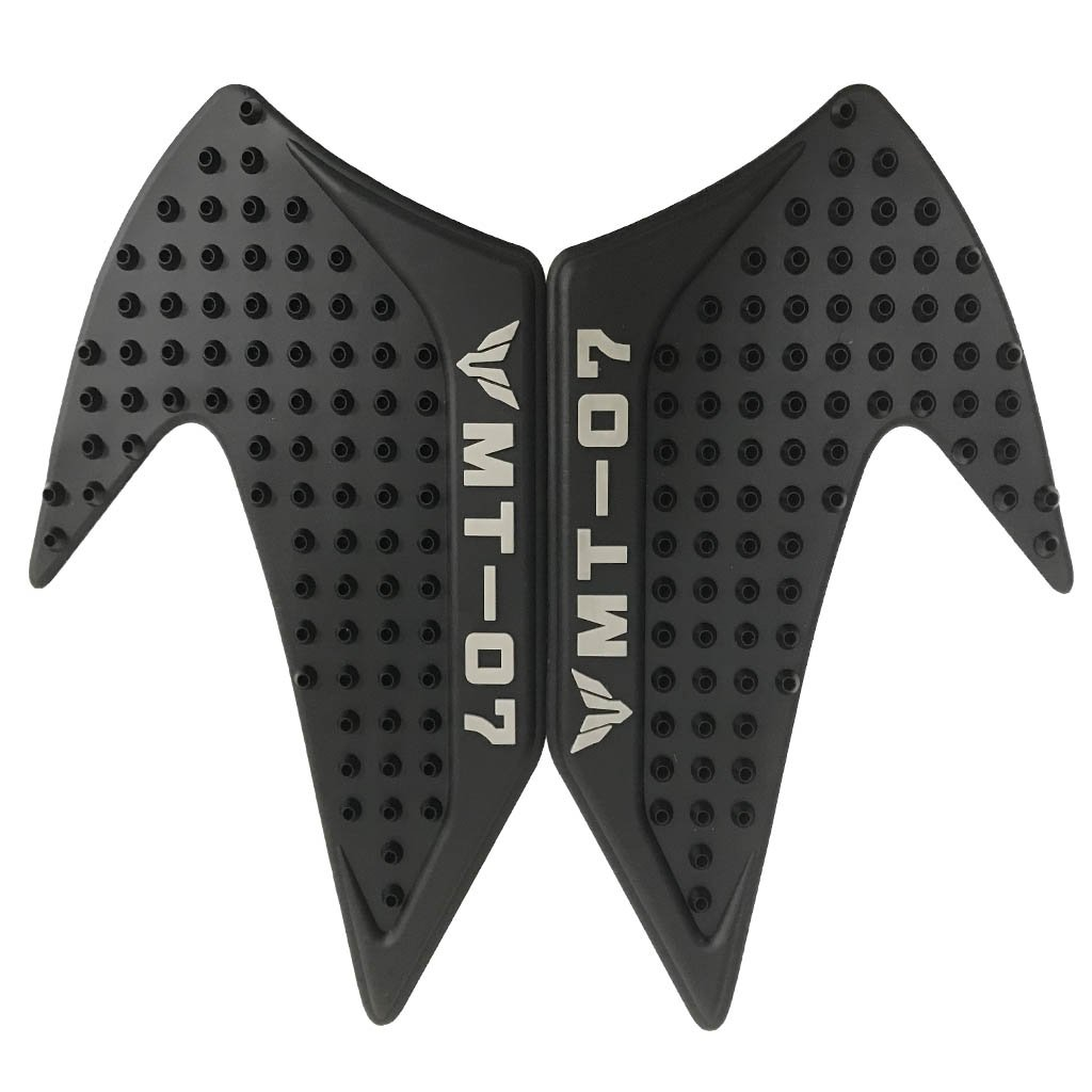 Lato adesivo antiscivolo moto Serbatoio gas Pad ginocchio Fuel ginocchio grip Protector per Yamaha YZF R1 2015-2016