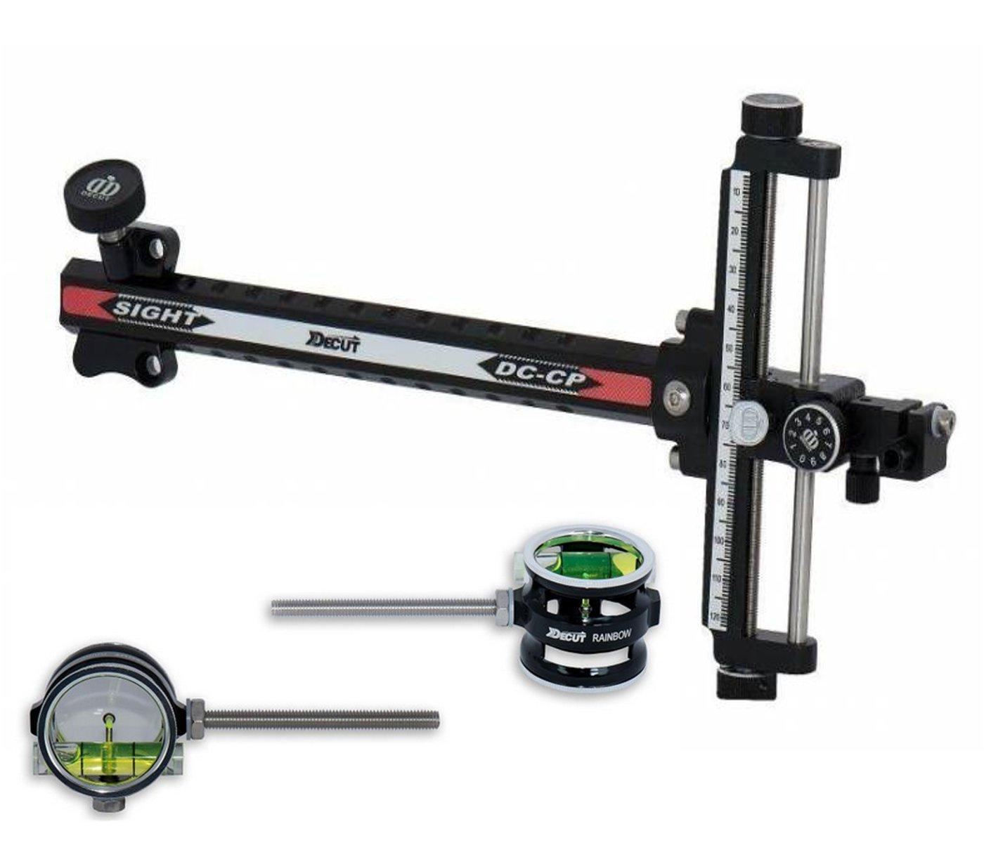 1.00 Decut Archery Compound Bow Sight Black Rainbow Scope