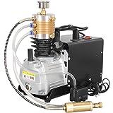 TOPQSC Ajustable Auto-Stop 300BAR 30MPA 4500PSI Compresor de aire de alta presión de la bomba de aire eléctrico…