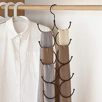 Amazon.com: XMZFQ - Estantería multifuncional para bufandas ...