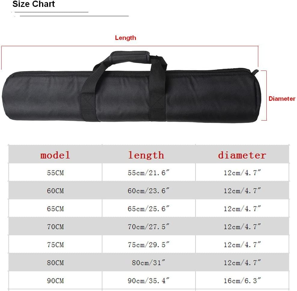 "Tripod Carry Bag Pad Package -Bailuoni Great As A Carrying Case for Your Tripod in Outdoor/Outing Photography Bag (55CM)(21.6"" × 4.7"""