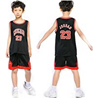 Niño Camisetas de Baloncesto para Hombre - Bulls Jordan 23, Lakers 23 James/24 Bryant, Warriors 30 Curry/35 Durant NBA…