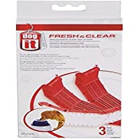 Dogit Replacement Filter Cartridge for Fresh and Clear Large Dog Fountain - 3-Pack