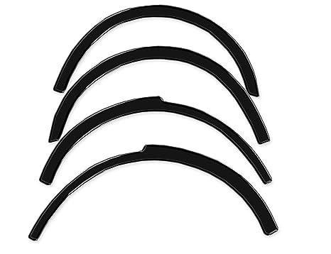 R.S.N. 580 Negro Brillante rueda arcos, Fender tapacubos extensiones, para óxido