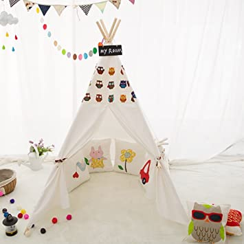 LoveTree® Children Indian Teepee Tent-Printed Owl-Preassemble  sc 1 st  Amazon.ca & LoveTree® Children Indian Teepee Tent-Printed Owl-Preassemble ...