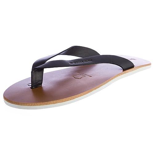 ed7fbe0833b Amazon.com  G-Star Raw Women s Correct Line Flip Flops Sandals GS83100 000  Size 5 Black  Shoes