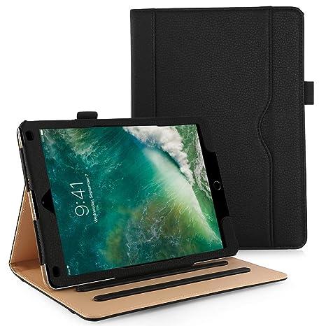 Anjoo Compatible Funda iPad 9.7 Pulgada, iPad Air 1, iPad Air 2 Funda, Auto-Sueño/Estela y Función de Soporte, Smart Cover para Apple New iPad ...