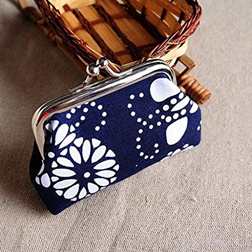 Lady Clearance Wallet Vintage Retro Bag Coin Hasp 2018 Purse fossil Noopvan Clutch B wallet Mini Wallet RqxU5wt