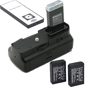 Empuñadura de batería para Canon EOS 100d Rebel SL1 DSLR Cámara + ...