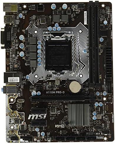 MSI Motherboard H110M Pro-VD Core i3//i5//i7 LGA1151 DDR4 SATA USB uATX Retail