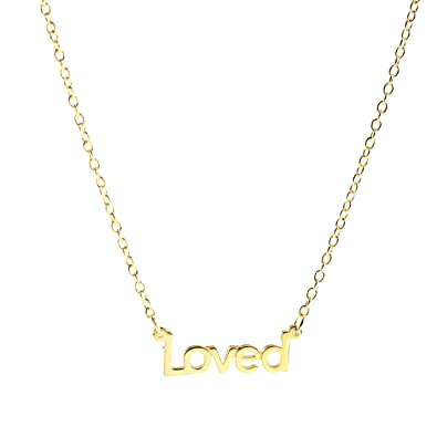 letters necklace dallasandcarlos mini detail gold word alpha custom love silver