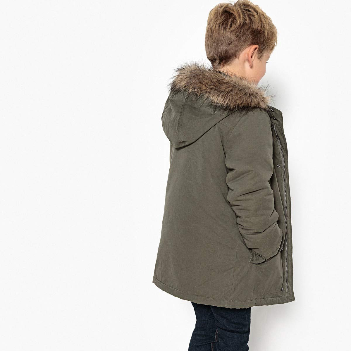 La Redoute Collections Big Boys 3-in-1 Parka, 3-12 Years Green Size 6 Years - 44 in. by La Redoute (Image #3)