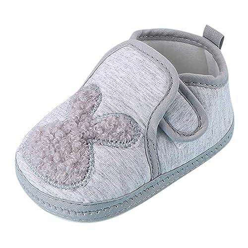 ZOREFINE ♥ Zapatos de Bebé Lindo Conejo Antideslizante ...