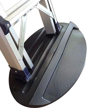 XGLL Almohadilla Protectora para Piso para Escalera de extensión, Caucho Blando de 27