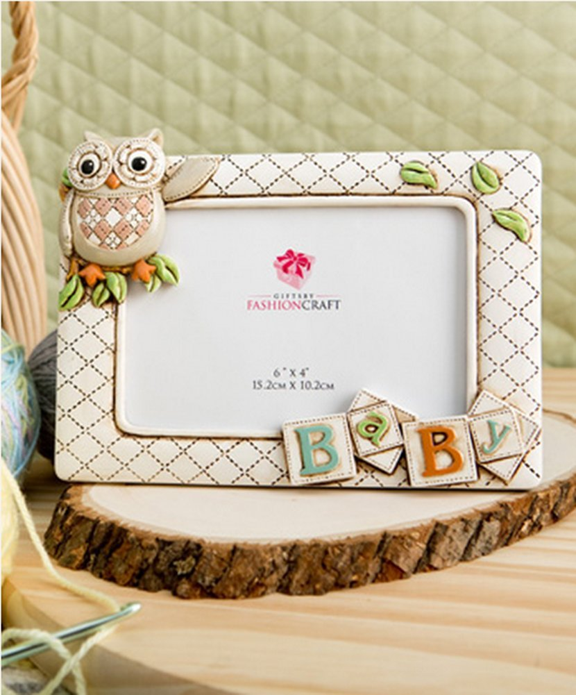 Baby Owl Picture Frame Horizontal 3d (8 X 6 Holds a 6 X 4 Picture) From Gifts By Fashioncraft FC