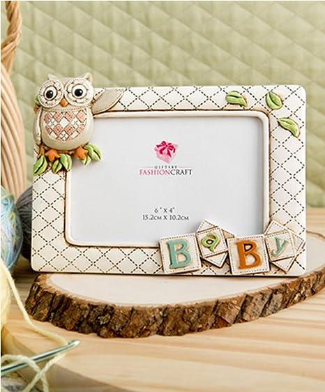 Amazon.com : Baby Owl Picture Frame Horizontal 3d (8\