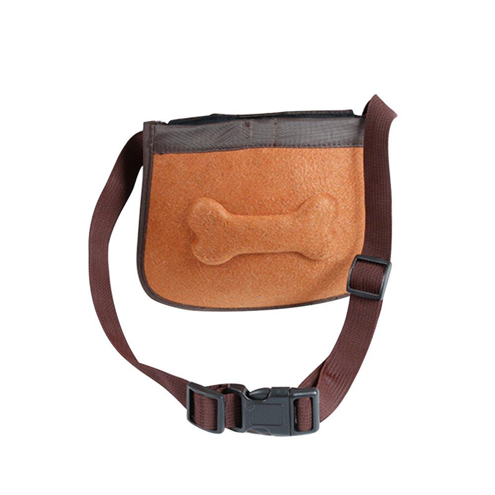 Jannyshop Sac de Friandises pour Chien,Poche de formation de chien, ceinture réglable extérieure pour des casse-croûte de train pour des chiens Jannyshop-123