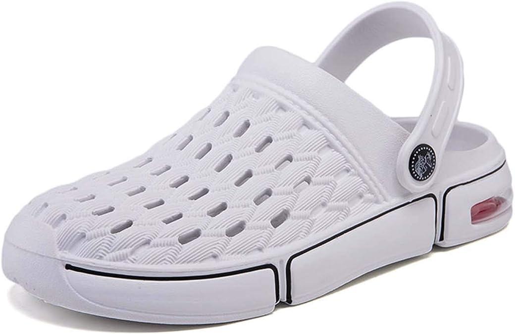Hopelong Mens Fashion Comfort Lightweight Holes Hollowing Out Sandals Clogs Water Shoes Beach Footwear