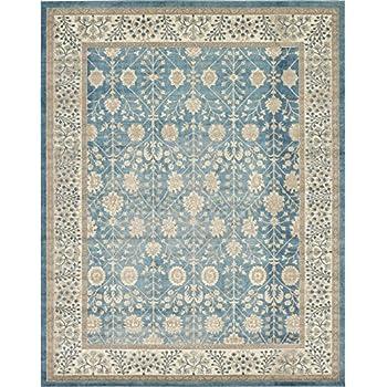 Amazon Com Luxury Vintage Persian Design Tabriz Rug Light