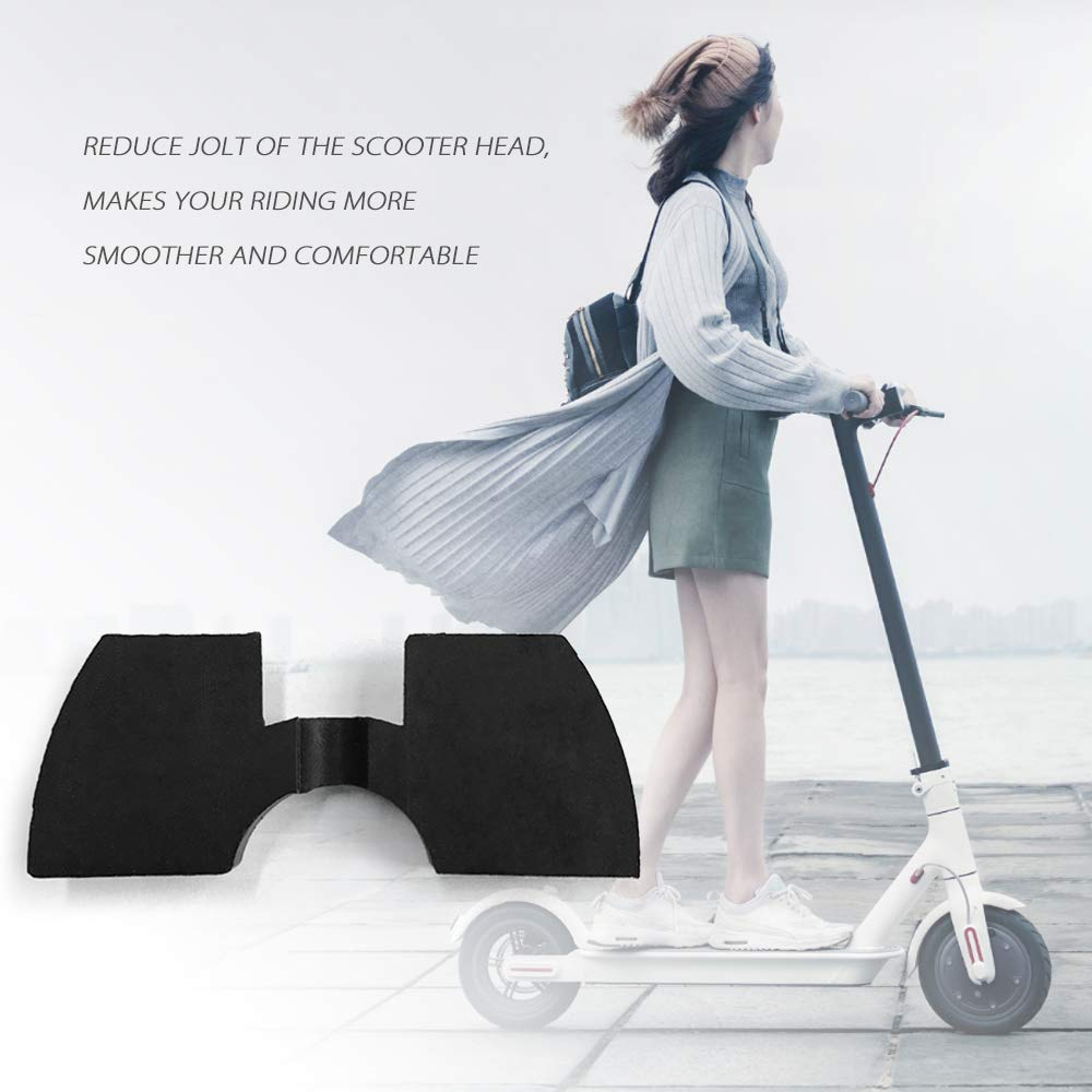Lepeuxi Scooter Plegable Conjunto Amortiguador de Goma Almohadilla de vibraci/ón evitando Amortiguador de fijaci/ón Amortiguador Paster para Xiaomi Mijia M365 Scooters el/éctricos