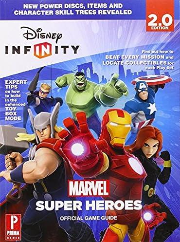 disney infinity marvel super heroes prima official game guide rh amazon com disney infinity 3.0 game guide book disney infinity marvel super heroes prima official game guide