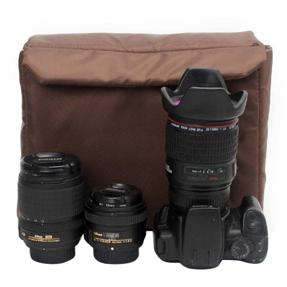 Berchirly SLR Camera Liner High-grade Pearl Cotton DSLR Camera Insert Partition Padded Camera Case,11.81''x4.33''x8.85