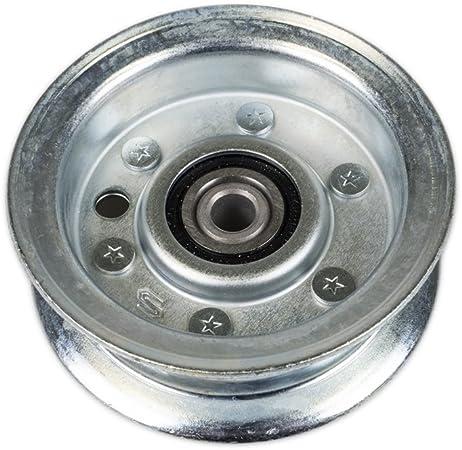 Flat Idler Pulley Replaces AM135773 John Deere