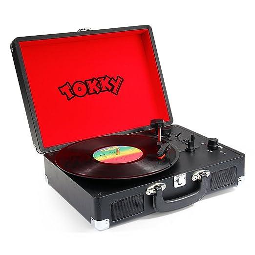 Tokky Vintage tocadiscos registro expedientes de la velocidad 3 ...