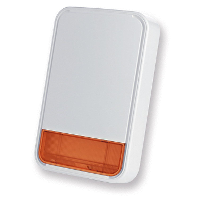 Außensirene externer Wireless Alarmanlage Haus Blinklicht Bentel bw-sro/N