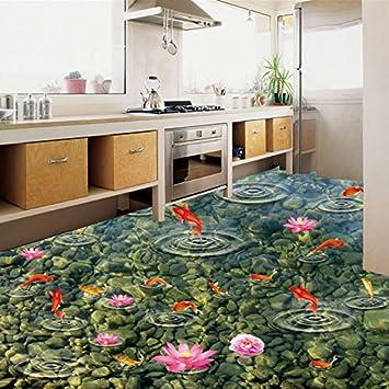 Lwcx Pvc Selbstklebend Wasserdichte Boden Fliesen Tapete Kuche