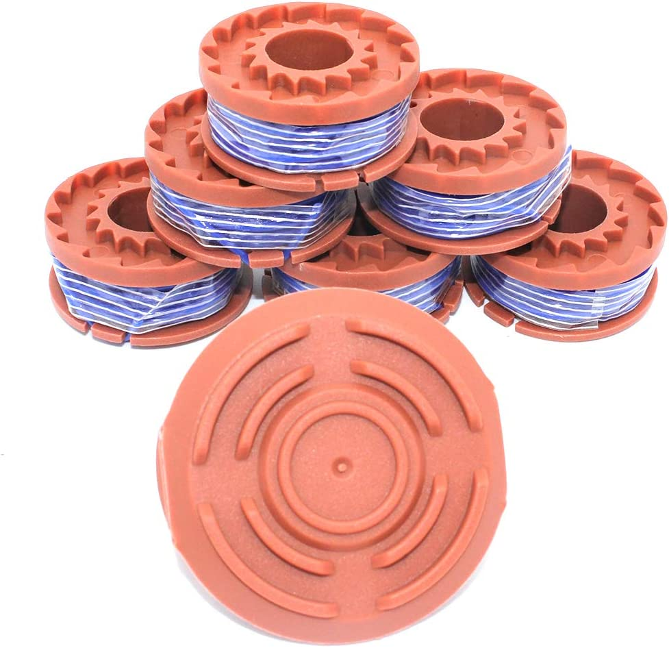 5x For WORX WA6531 WG150,WG165 50006531 Strimmer Head Trimmer Spool Covers Cap