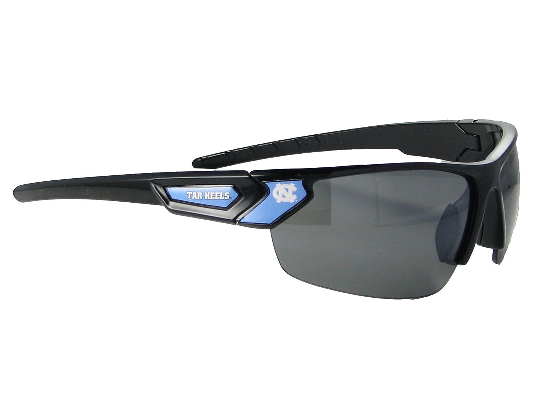 North Carolina Tar Heels Black Blue Mens Sport Sunglasses UNC Gift S12JT