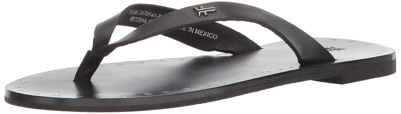 - - FRYE Woherren Ally Logo Flip Flop, schwarz, 7 M US  Kostenloser Versand!
