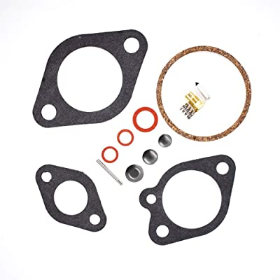 labwork Carb Kit Fit for 9.9 15 75 85 105 120 130 135 150 HP: Automotive