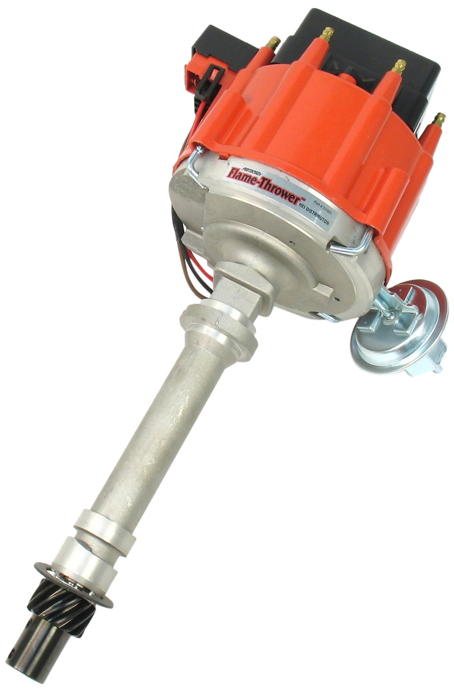 PerTronix D1001 Flame-Thrower Red Cap Distributor HEI for Chevrolet Small Block/Big Block
