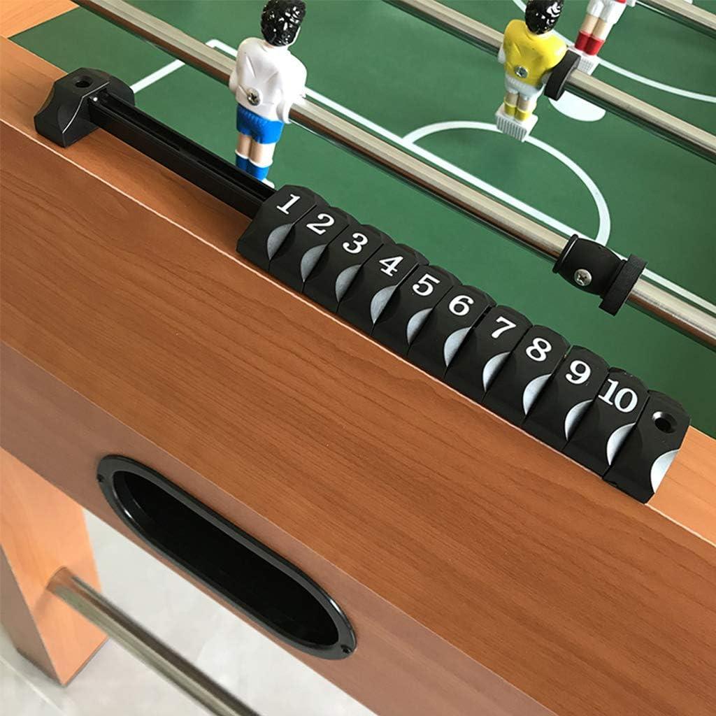 XLOO Table de Baby-Foot de Football 4 en 1, pour Tournoi de Jeu pour Enfants, Cadeaux pour Enfants G