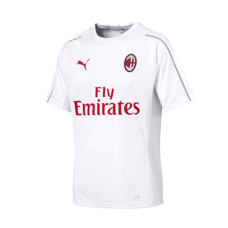 Puma AC Milan Training SS with Sponsor, T-Shirt Uomo 754459
